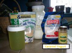 Homemade Caramel Yogurt from Yogurt Everyday