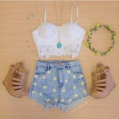 These shorts. I mean, please!