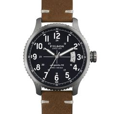 The Mackinaw Field Watch by Filson/Shinola