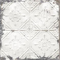 Shop Brewster Home Fashions Brewster Wallcovering Reclaimed Tin Ceiling Distressed Tiles Wallpaper at Lowe's Canada. Find our selection of wallpaper at the lowest price guaranteed with price match. Look Wallpaper, Tile Wallpaper, Wallpaper Samples, Self Adhesive Wallpaper, Peel And Stick Wallpaper, Classic Wallpaper, Peelable Wallpaper, Wallpaper Ceiling, Peel And Stick Tile