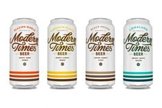 + Design de embalagem :     Um aspecto diferente da cerveja Modern Times, desenvolvido pela Helms Workshop.