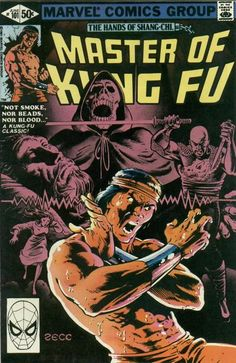 Speaking of comic art - Mike Zeck's run on MoKF = class act (plus the stories are pure kung fu bliss). Hit the quarter bins!