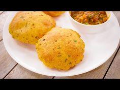 करारी आलू की पूरी की रेसिपी | aloo puri / potato alu flavor poori tiffin recipe | CookingShooking - YouTube
