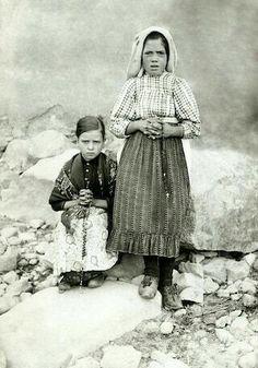 Lucia & Jacinta , the Fatima seers