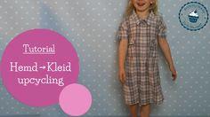 Kleid aus Hemd nähen   Upcycling   recycling   DIY Nähanleitung   mommymade