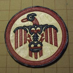 WW2 Thunderbird Field Squadron Patch for A2 Flight Jacket