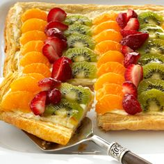 Citrus Fruit Tart - easy to make, but it looks and tastes like it's from a fancy bakery.