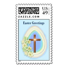 Easter Blessings Postage
