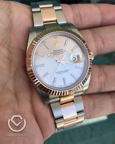 The new Rolex Datejust IIin  Stainless and Rose Gold $11500 only 1 in stockjust arrived