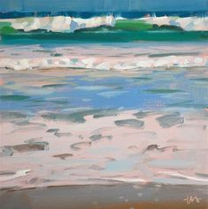 "Daily Paintworks - ""Sea Slice 2"" - Original Fine Art for Sale - © Carol Marine"