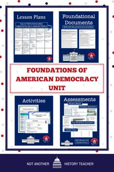 Enhance your AP Government class while making your life easier with this foundation of the American government unit! With 15 complete lessons, there is no prep involved for you. This resource will bring you more time and bring your students a more comprehensive and rigorous curriculum.