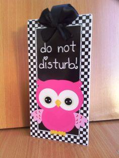 custom do not disturb / welcome office doorknob hanger - office or ...