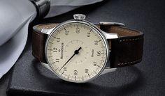 Meistersinger • Circularis • Elfenbein • single hand watch