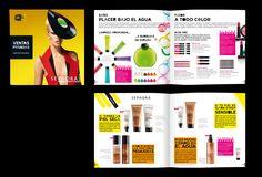 Minimagazine trimestral de Sephora. (40 pag) Recoge todas las novedades e incluye marcas y productos destacados.