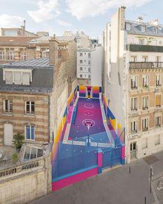 Спортивная площадка как арт-объект: 5 проектов | AD Magazine
