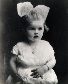 Lucille Ball as a baby - precious