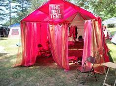 A Gypsy Red Tent  http://fairiesinamerica.com/wp-content/uploads/2010/06/redtent.jpg