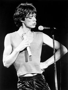 Classic Mick face.... and I like it like it yes I do!