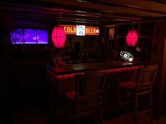 View of the main Tiki Bar, with Tiki Vista!