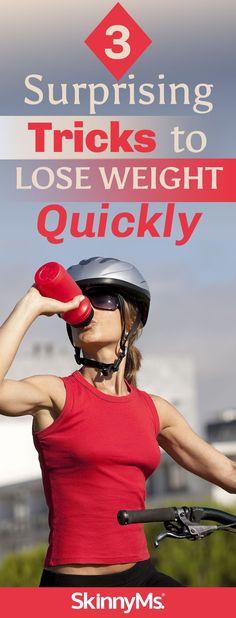 3 Surprising Tricks to Lose Weight Quickly #weightloss #weightlosstips #womenshealth
