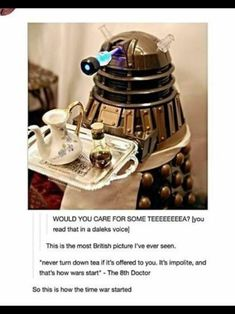 Afternoon Tea Doctor Who Meme, Doctor Who Quotes, David Tennant Doctor Who, Donna Noble, Rose Tyler, Eleventh Doctor, Norse Mythology, Matt Smith, Time Lords