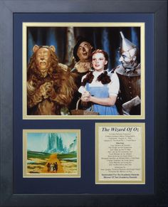 Wizard of Oz - Group Framed Photo Collage