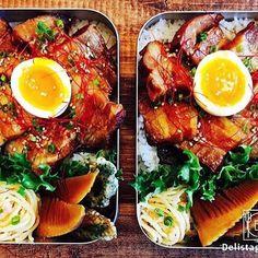 ouchigohan.jp 2017/04/25 20:13:20 delicious photo by @natsu4659  こんなお弁当が食べたい!😋 新生活が始まり一ヶ月が経ちそうですね😆 お昼はお弁当という方も多いようで、最近のインスタグラムでは素敵なお弁当がたくさん見られます🍱🎶 今日はそんな素敵なお弁当の中から、女子だってがっつり食べたい!#女子ドカベン弁当をご紹介します👀🤳 @natsu4659さんが作っていらっしゃるお弁当、ボリュームたっぷりで美味しそうなんです😍 こちらのお弁当は豚の角煮弁当✨味の染みた筍も美味しそうです😆見ていたらお腹が減ってきました💦 ボリュームたっぷり派のみなさん、是非@natsu4659 さんの投稿をチェックしてみてくださいね💁♂️ -------------------------- ◆インスタグラムの食トレンドを発信する、食卓アレンジメディア「おうちごはん」も更新中 プロフィール欄のリンクから見れますよ https://ouchi-gohan.jp…