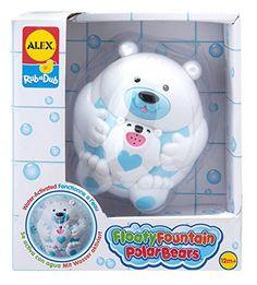 ALEX Toys Rub a Dub Floaty Fountain Polar Bears     This is an Amazon 93564cdfecde
