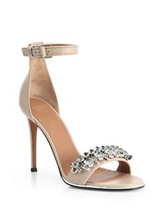 Givenchy - Jeweled Mona Sandals