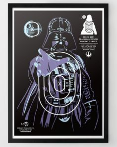 Star Wars Target Prints featuring Darth Vader, Boba Fett, a Stormtrooper, and a Rancor. #StarWars