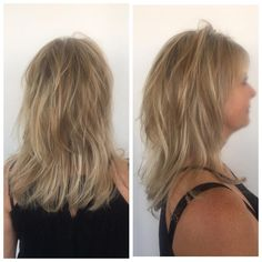Foiling on a friYAY���� Perfect blonde for the summertime ��  #blondehair #learnwithlp #cosmetology #ericfisheracademy #foils #blonde #blowout http://tipsrazzi.com/ipost/1523521277591006032/?code=BUkooeuj6tQ