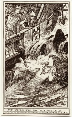 Mermaids artworks by Henry Justice Ford