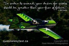 #QuesnelSkyFest Gary Ward aviation SkyFest 2012