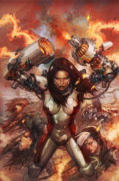 x-men legacy 243 cover by ~leinilyu on deviantART