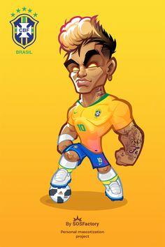 Neymar caricature Football Fever, Football Art, Football Players, Football Player Drawing, Neymar Jr Wallpapers, Barcelona Players, Soccer Art, Team Wallpaper, Ronaldo Juventus