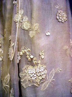 ♕ Evening dress, James Galanos (American, born Philadelphia, Pennsylvania, 1924)