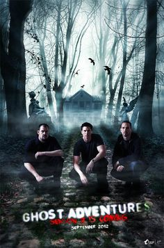 My very favorite show and my favorite ghost hunters. It's my dream to go with them in a ghost adventure! Ghost Shows, Ghost Adventures Zak Bagans, Ghost Hunters, Tv Times, Travel Channel, Haunted Places, Ghost Stories, Scary Movies, Best Tv