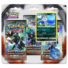 New product alert! Sun & Moon Burnin... is now available to order. Find out more here: http://www.soplayergames.com/products/burning-shadows-triple-pack-booster-meowth?utm_campaign=social_autopilot&utm_source=pin&utm_medium=pin