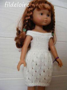 Petite robe point ajourée tuto