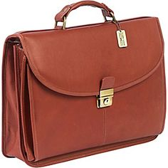 ClaireChase Lawyers Briefcase - Saddle - via eBags.com!