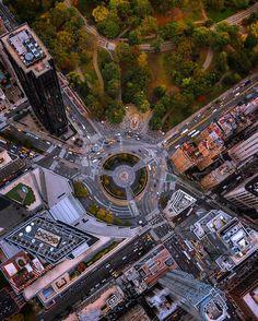 Columbas Circle New York