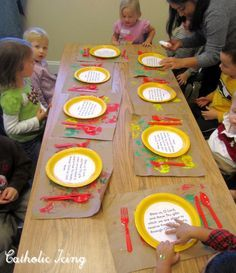 grace before meals craft for sunday school. could this be worked in to a series on praying throughout the day?