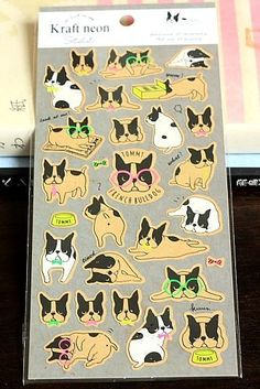 This is super cute Japanese Paper sticker.- Material: kraft paper and neon- Super high quality- Made…