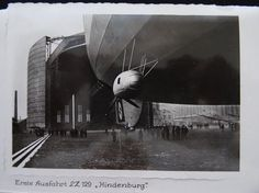 German Airship LZ129 Hindenberg Zeppelin Photographs 10 In Total. Extremely Rare