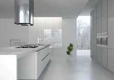 Es una mezcla de cemento, piedra, arena y agua que se alisa… White Wood Floors, Concrete Floors, Concrete Interiors, Small Room Bedroom, Home Projects, Kitchen Design, Sweet Home, Kitchen Cabinets, New Homes