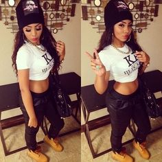 dope girl swag outfits - Google Search