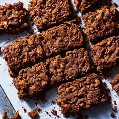 Call Them Apple Brownies or Apple Blondies or Neither; They're Awesome (vegan, includes walnuts)