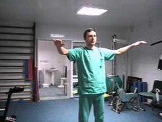 Комплекс упражнений для грудного отдела позвонка - YouTube