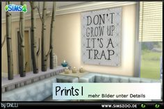 Sims 4 CC's - The Best: Prints by ChiLLi - Blackys Sims Zoo