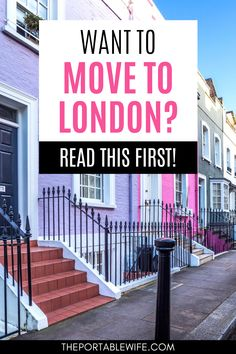 Want to move to London but don't know where to start? Moving to the UK from US is complicated if you're an American. Before you start a new London life, there are a few things you should know, from visa rules to living in London expenses. | Study abroad in London | Move to London from US permanently | Moving abroad from US | How to move to London | Moving to London checklist | Moving to London from US | England expat life | Moving to England checklist | #expat #london #movingabroad Moving To England, Moving To The Uk, New London, London Life, Travel Guides, Travel Tips, Like A Local, London Photos, London Travel